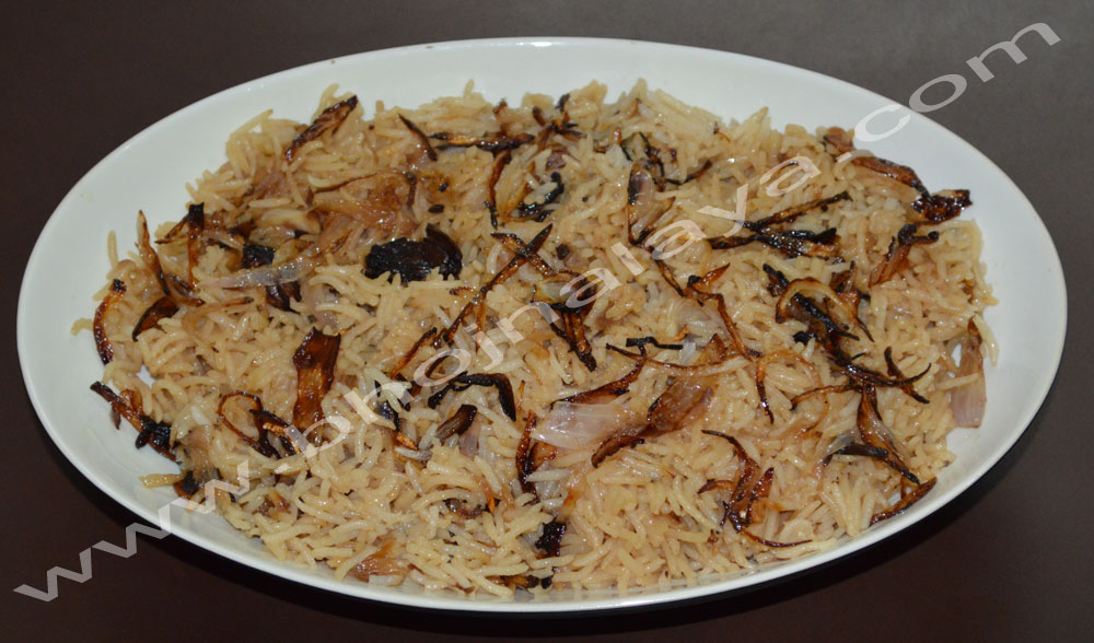 Brown Onion Rice