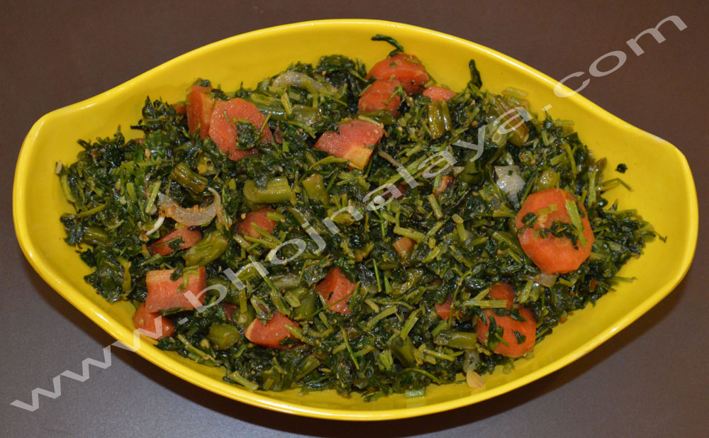 Methi-WIth-Beans-&-Carrots