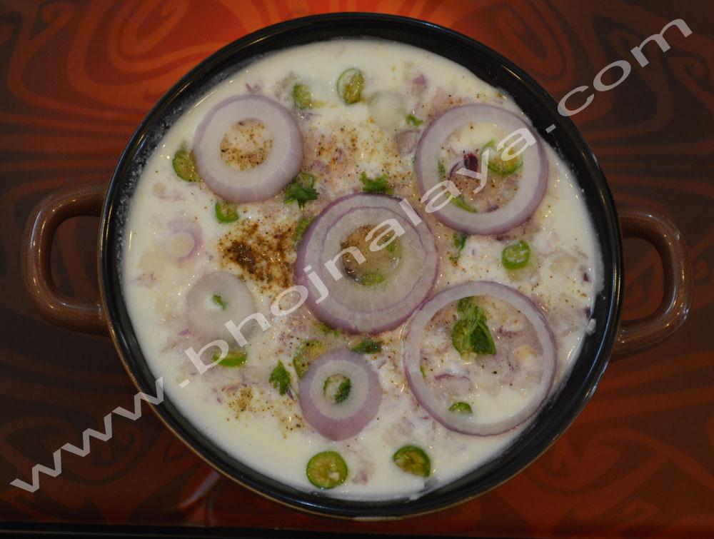 Onion-Raita